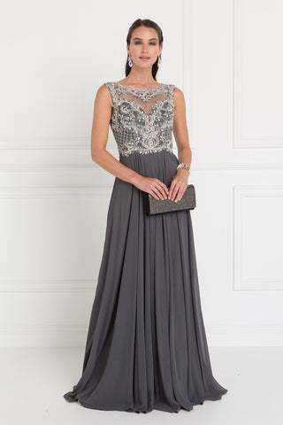 Sparkly Navy prom dress GLS 1566