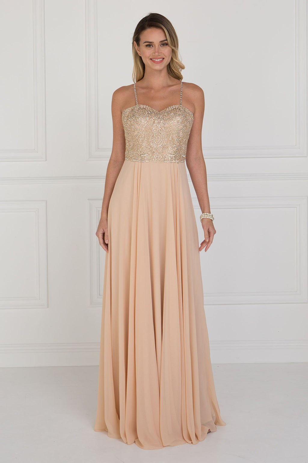 Elegant prom dress GLS 1571-Simply Fab Dress