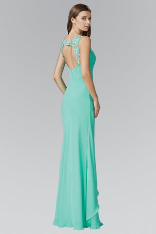 Empire waist long bridesmaid dress GL2061 - Simply Fab Dress