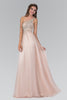 Sparkling One Strap empire waist long chiffon formal dress #gl2094 - Simply Fab Dress