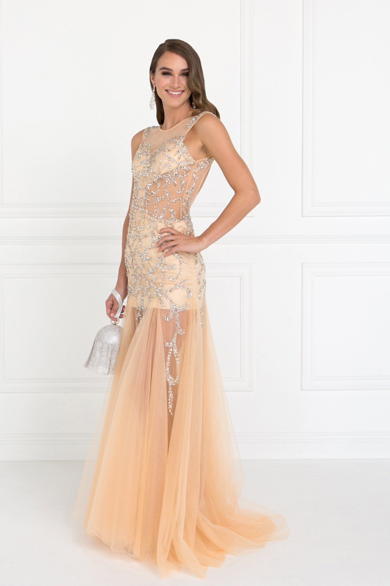 Extremely Revealing Prom Dress