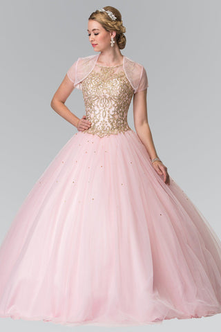 Sparkly Quinceanera dress  # gls2518