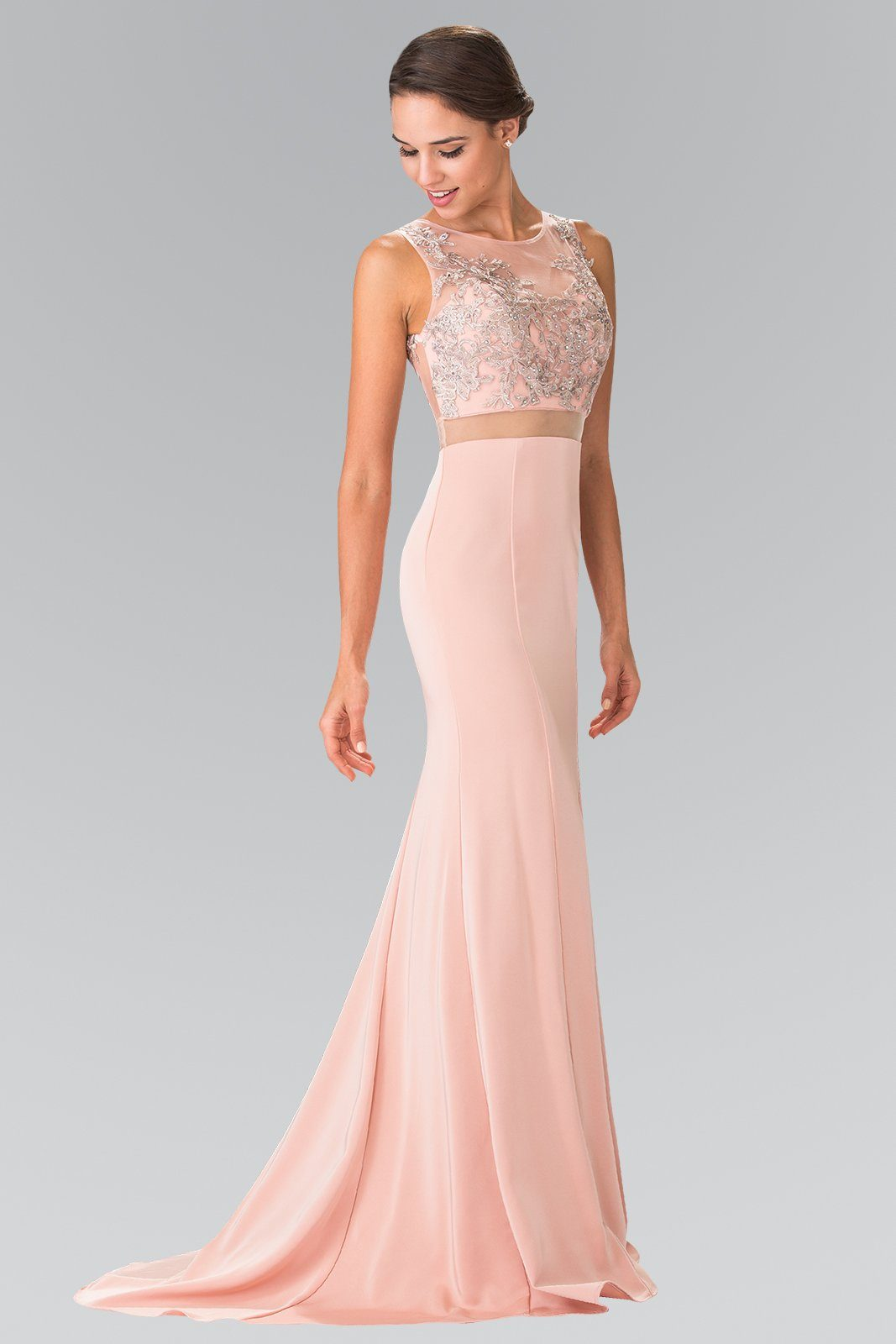 Long 2 piece prom dress gl2247-Simply Fab Dress