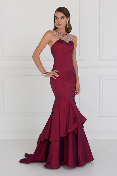 mermaid Satin prom dress #gl2290-Simply Fab Dress