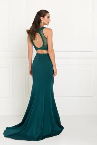Long 2 piece prom dress gl2419-Simply Fab Dress