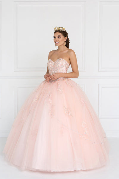 Blush quinceanera princess dress gls 2427-Simply Fab Dress