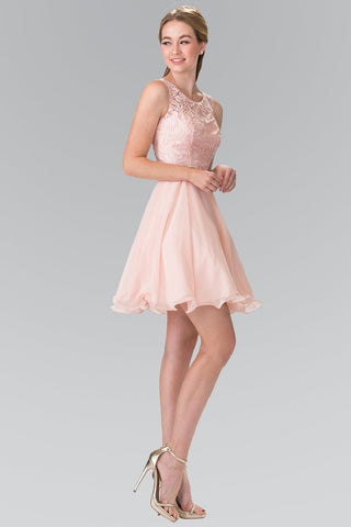Affordable Lace top short homecoming and prom dress  gs2314 - Simply Fab Dress