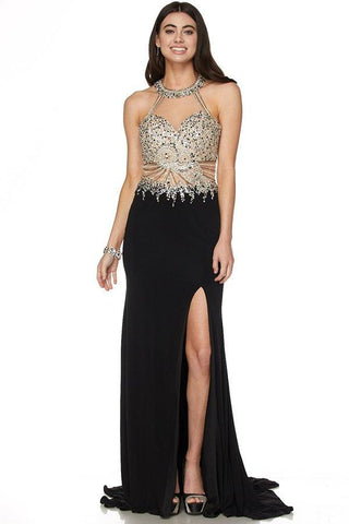 04267d832c Long Prom Dress   Pageant dress 101-619 - Simply Fab Dress