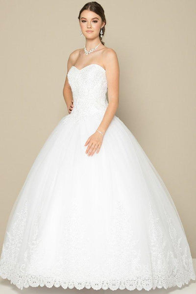 Affordable ball gown wedding dress jul#376-Simply Fab Dress