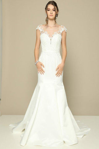 Informal beach gowns casual wedding dresses for summer simply mermaid style ivory wedding dress jul381 simply fab dress junglespirit Image collections