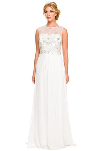 f42f648cc0c sleeveless chiffon beach wedding dress jul  589 - Simply Fab Dress