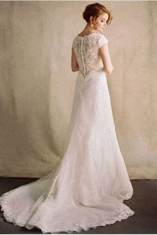 Vintage lace wedding dress k 45461 - Simply Fab Dress