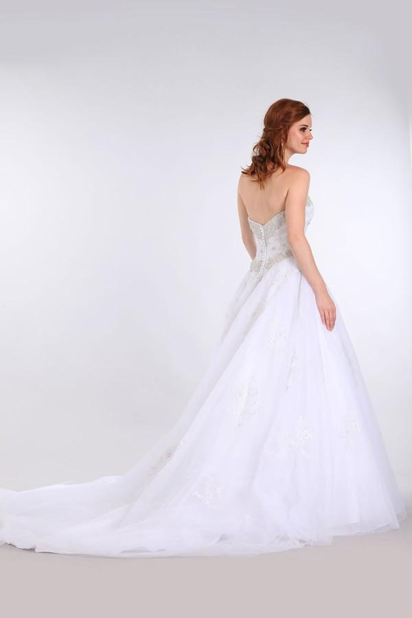 sweetheart neckline a-line ball gown wedding dress MT215 - CLOSEOUT ...