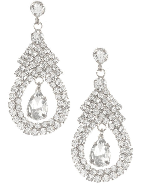 Gorgeous fashion earrings  MME24758GRDCL - Simply Fab Dress