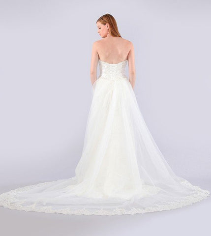 Stunning mermaid wedding dress-mt 214 Affordable wedding dress - Simply Fab Dress