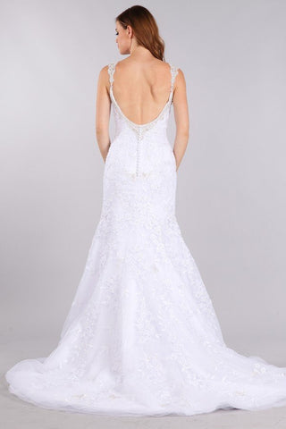 Stunning mermaid wedding dress-mt 224 Affordable wedding dress - Simply Fab Dress
