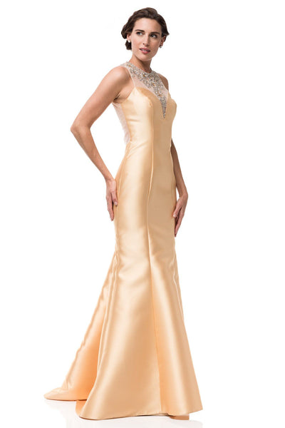 5625c5d3493d Gold mermaid prom dress BC/NQ003 – Simply Fab Dress