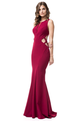Off the shoulder formal dress JL664