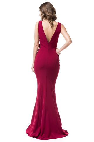 Sexy red evening gown #RR9068-Simply Fab Dress