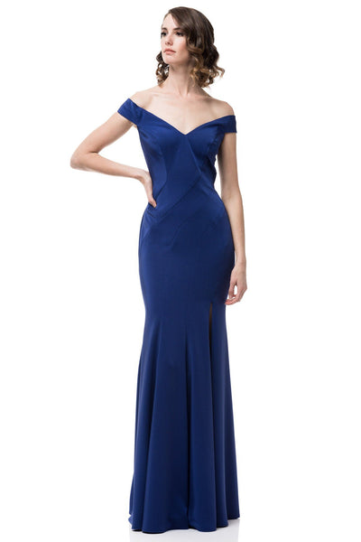 Off the shoulder formal dress #SK17523-Simply Fab Dress