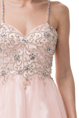 Beaded bodice quinceanera dress BC#SR160711 - Simply Fab Dress