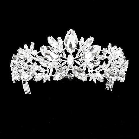 Rhinestone wedding crown and pageant tiara #w339989 - Simply Fab Dress