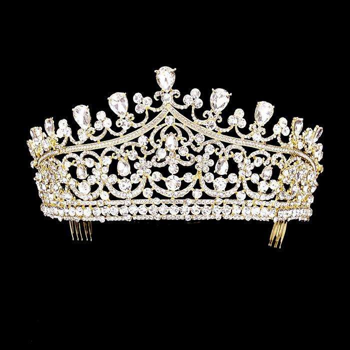 Sparkling jewel wedding crown and pageant tiara #W335894 - Simply Fab Dress