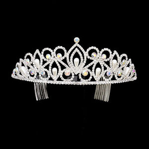 Pearl quinceanera tiara [354607] TH1273-Simply Fab Dress