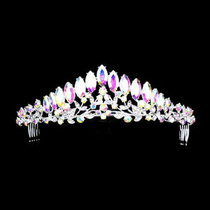 Iridescent quinceanera crown  [400158] TH1379
