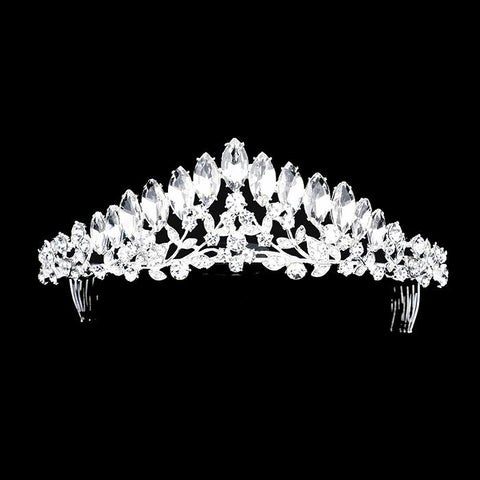 Wedding tiara and crown [400159] TH1379-S-CRY