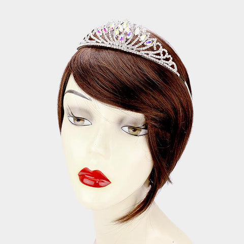 Quinceanera tiara and crown  [396646] TH20-40339-CL-SV