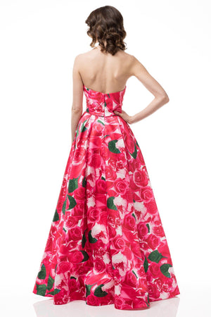 Elegant floral formal dress #TR77329-Simply Fab Dress