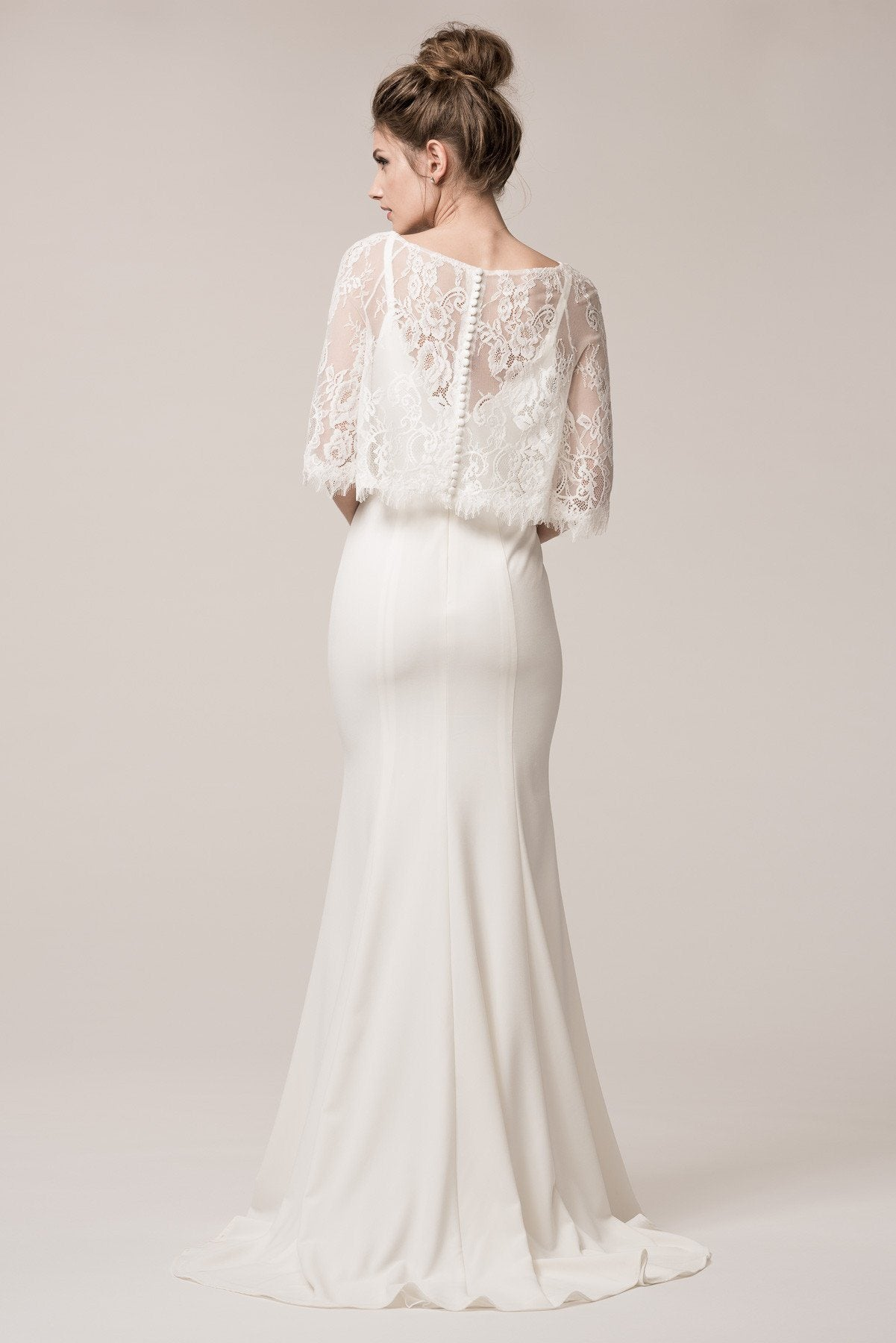 Vintage style simple bohemian wedding dress BC #TRW24606 – Simply ...