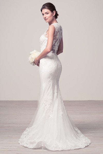 Lace mermaid wedding dress ttw1639 Affordable wedding dress - Simply Fab Dress