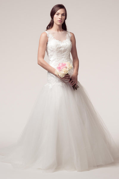 Trumpet wedding gown 106-ttw201725