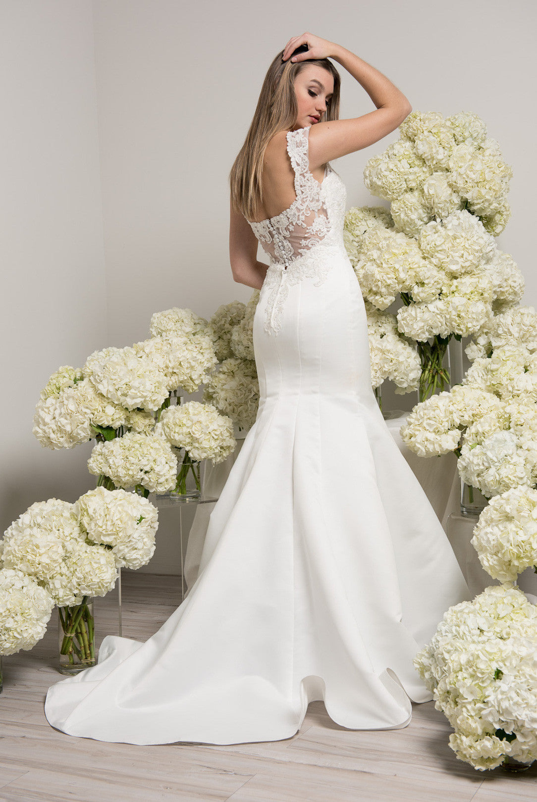 Off the shoulder beach wedding dress BC#TTW6150 - Simply Fab Dress