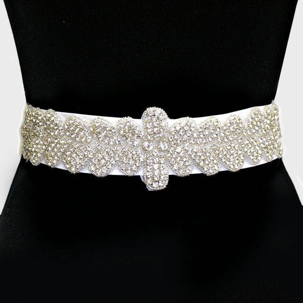 Rhinestone Bridal Belt  285386wb1005 - Simply Fab Dress