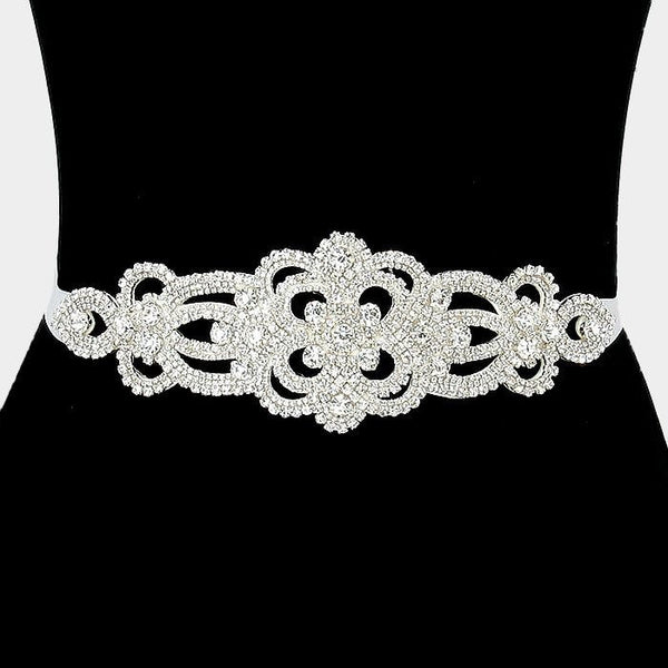 Rhinestone Bridal Belt  304784wb1020 - Simply Fab Dress