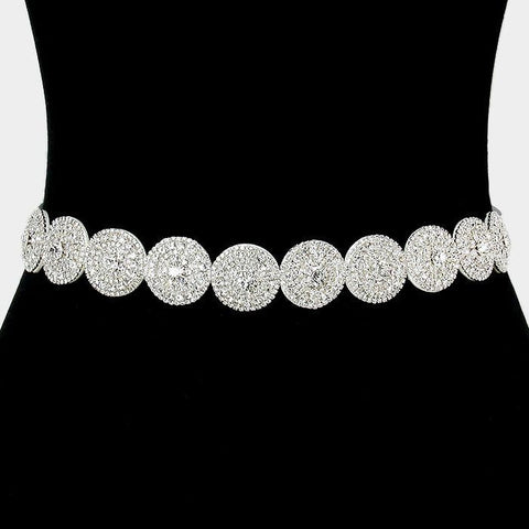 Rhinestone Bridal Belt  288191wb1026 - Simply Fab Dress