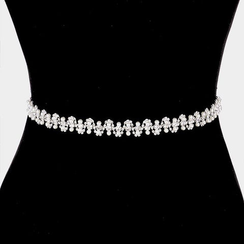 Rhinestone Bridal Belt 322281wb1730 - Simply Fab Dress
