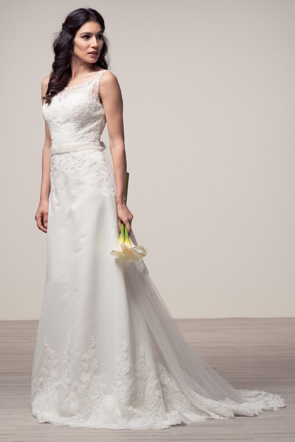 Elegant wedding dress 106-wyw2003