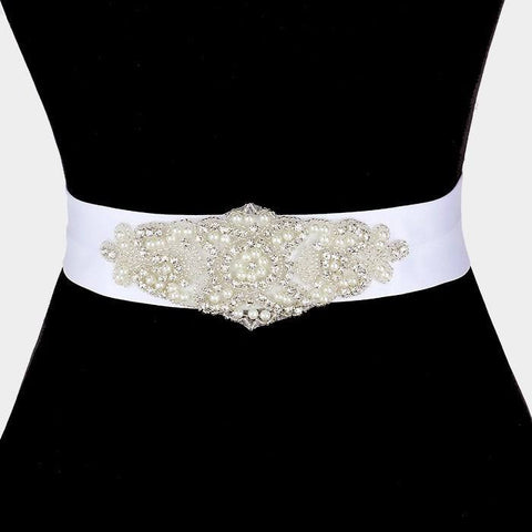 Rhinestone Bridal Belt  325212wb1002 - Simply Fab Dress
