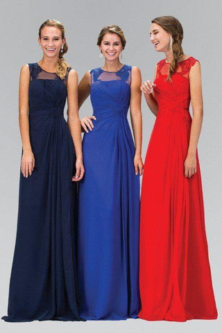 Elegant long bridesmaid Dress 103-gl1375 - Simply Fab Dress