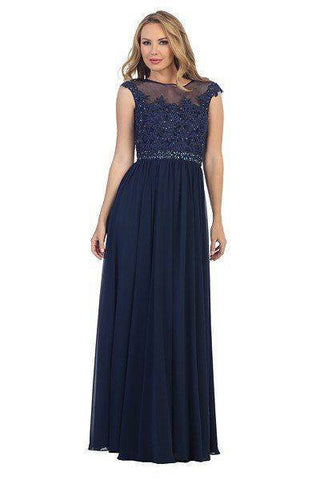 Elegant bridesmaids dress 107- 7050 - Simply Fab Dress