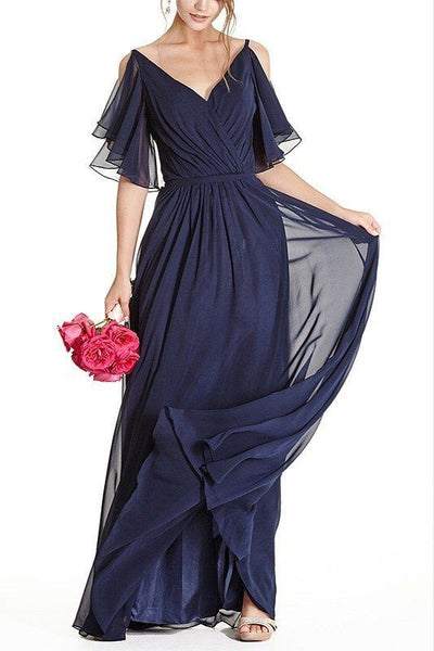 Floor length Bridesmaid Dress BB 171-743 - Simply Fab Dress