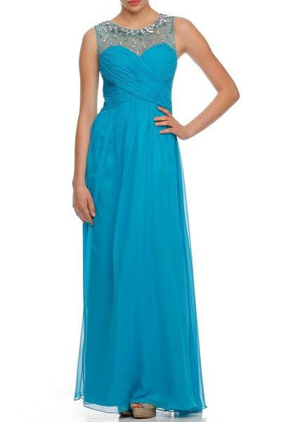 Long bridesmaid dress 105-566 - Simply Fab Dress