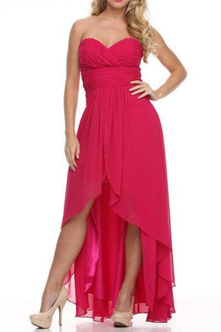 Sweetheart High N' Low Bridesmaid Dress 105-551  Bridesmaid dress - Simply Fab Dress
