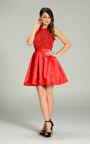 Elegant cocktail dress 101-7242 - Simply Fab Dress
