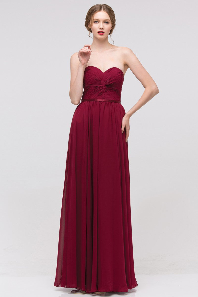 Affordable bridesmaid dresses long chiffon dresses simply fab this long chiffon bridesmaid dress features a light and flowing chiffon fabric with a ruched bodice ombrellifo Image collections