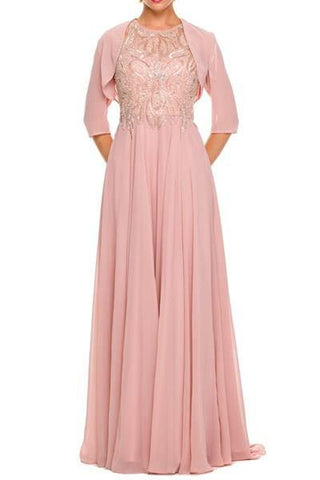 Floor length Bridesmaid Dress BB 55YG5-001